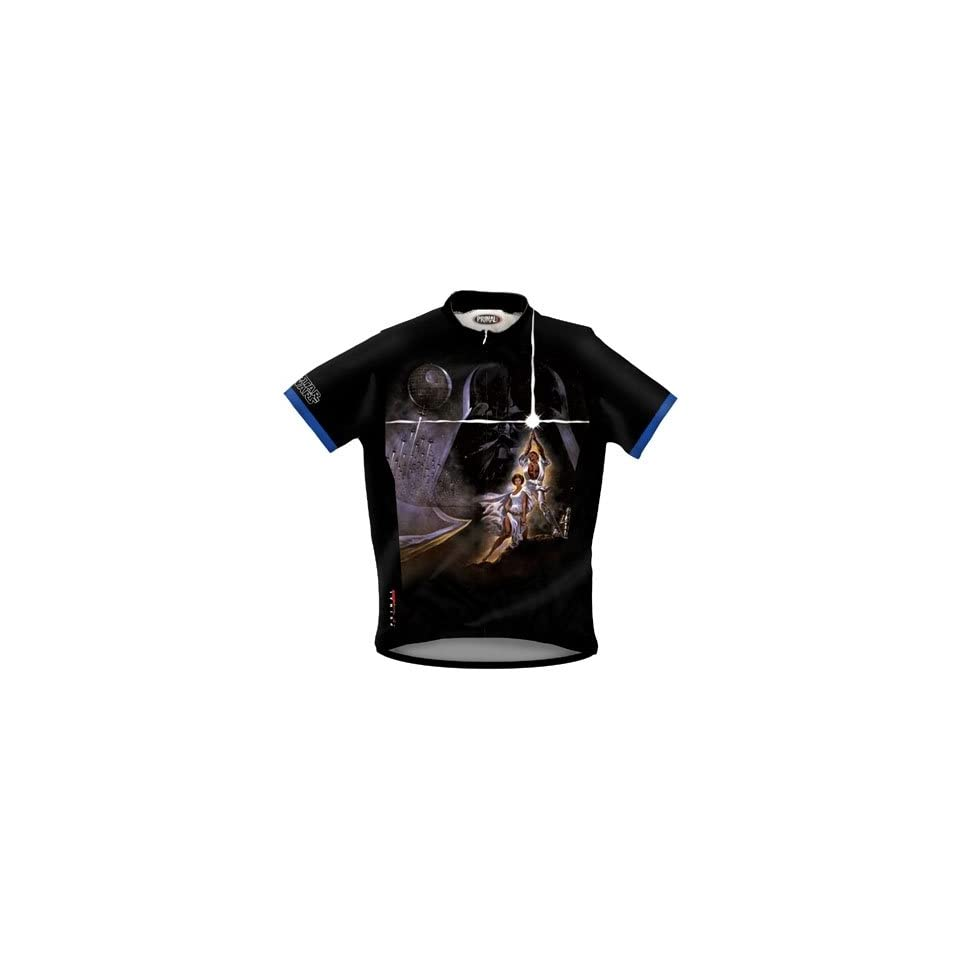 Primal Wear Mens Star Wars A New Hope Short Sleeve Cycling Jersey SWE4J10M 87318d0a1
