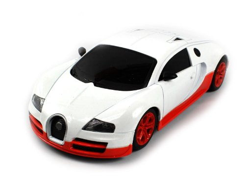 Today Sale Diecast Bugatti Veyron Super Sport Electric RC Car Full Metal Body 1:24 RTR (Colors May Vary)  Best Offer