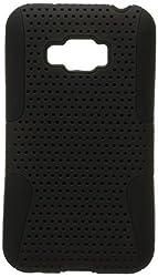 AIMO Apex Hard Hybrid Gel Case For LG Optimus Elite LS696 - Black