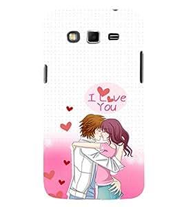 EPICCASE I Love You Mobile Back Case Cover For Samsung Galaxy Grand (Designer Case)