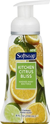softsoap-foaming-hand-soap-kitchen-citrus-bliss-8-ounce-pack-of-3-by-softsoap