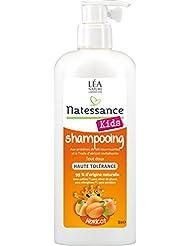 Natessance Kids Shampooing Haute Tolérance Kids Abricot sans Sulfates 500 ml