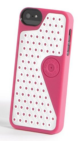 Great Sale Oakley Gripper Case iPhone 5 (Fuschia)
