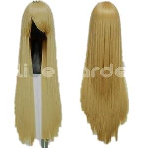 SureWells Weekend On Sale 10% Off Hetalia,Death Note,Natsume Yuujinchou COS wig Light Flaxen Fabulous wigs