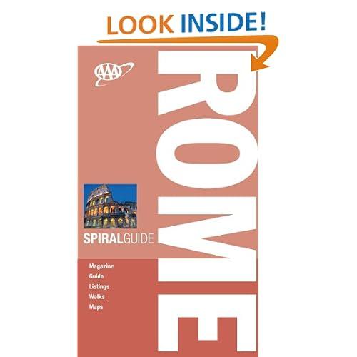 AAA Spiral Rome (AAA Spiral Guides: Rome) AAA