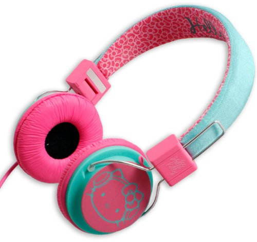 Hello Kitty Headphones Turquoise