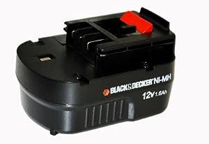 ブラックアンドデッカー(BLACK+DECKER) 12Vスライダーバッテリー A12NM