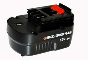 ブラックアンドデッカー(BLACK+DECKER) スライダーバッテリー 12V A12NM