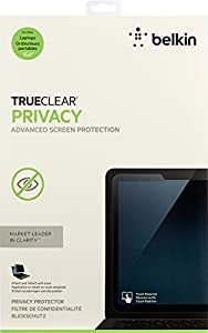 Belkin TrueClear Privacy Laptop Privacy Filter / Screen Protector for Touch-Screen Laptops, Notebooks and Ultrabooks (up to 15.6-Inch)(F7P324bt) by Belkin Components