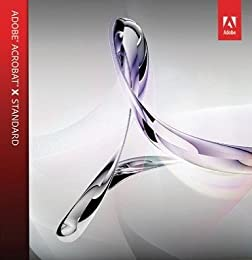 Adobe Acrobat X Standard Windows版 1USER/2PC (簡易パック)