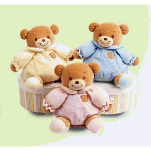 Baby Bow Blue Playtime Bear 11