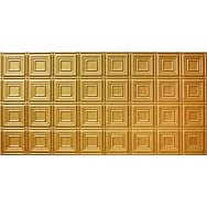 GLOBAL SPECIALTY PRODUCTS 204-04 Tin Look Nonsuspended Ceiling Tile Pack of 5