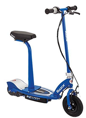 Razor E100S Trottinette électrique avec selle Bleu