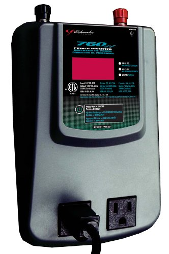 Schumacher PID-760 760 Watt Power Inverter with Digital Display