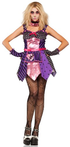 Lip Service Women's All Stitched Up Gothic Ragdoll Costume