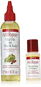 Organic Root Stimulator Hairepair Vital Oils for Hair and Scalp, 4.3 Ounce