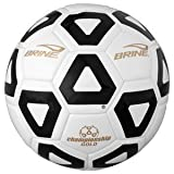Brine Championship Gold Soccer Ball (Black, 5)