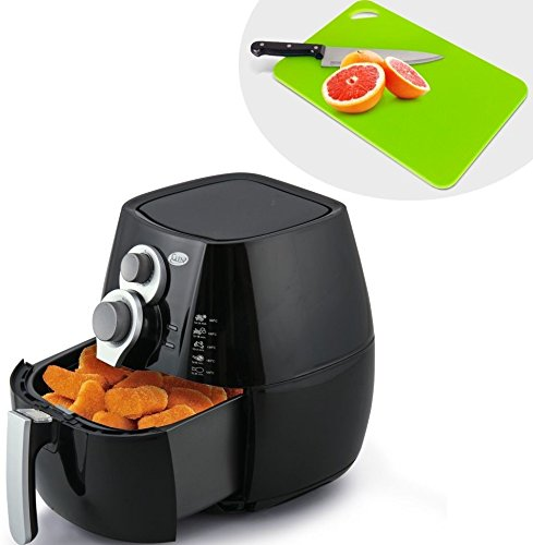 Buy GLEN GL 3042 BLACK AIRFRYER + ALDA PE Bi-Color 36 cm KTCB Online at Low Prices in India - Amazon.in
