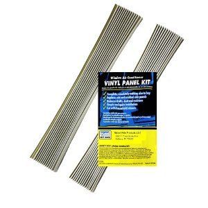 Air Conditioning Window Segment Replacement Vinyl Accordian Side Panel Kit