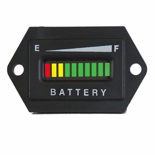 Golf Cart 36 Volt Led Battery State Of Charge Indicator