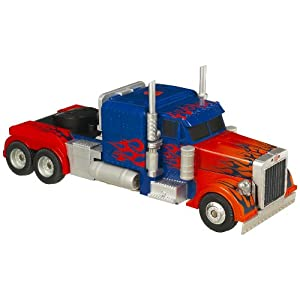 Transformers Stealth Force Truck - Optimus Prime: Amazon ...