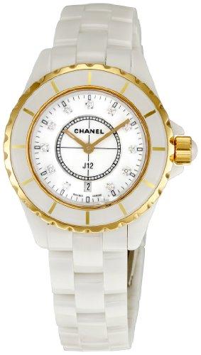 Chanel Men's H2181 J12 White Dial Watch