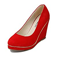 Yepme Red Wedges -- YPWFOOT9179_3