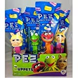 The Muppets Pez Candy Dispensers, 12 Pez Dispensers