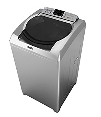 Whirlpool 360 Bloomwash Fully-automatic Washing Machine (8 Kg, Silver)