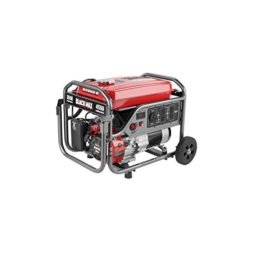Black Max 3,550 Watt Portable Gas Generator BM903500
