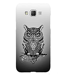 Indian Owl Tatto 3D Hard Polycarbonate Designer Back Case Cover for Samsung Galaxy Grand Max G720