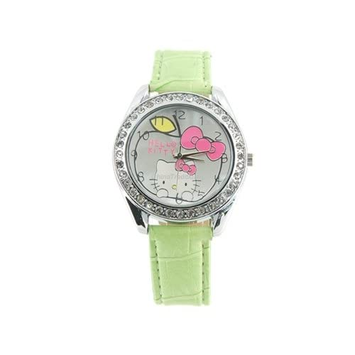 Hello Kitty Portable Wrist Watch Green