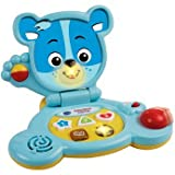 Serene VTech Baby Bear Blue Laptop - Cleva Edition ChildSAFE Door Stopz Bundle