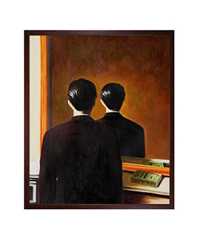 René Magritte Not To Be Reproduced Framed Hand-Painted Oil Reproduction