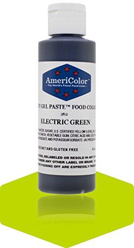 Americolor Soft Gel Paste 4.5 oz. - Electric Green (Americolor Electric Colors compare prices)