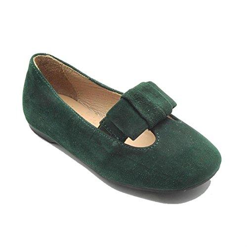 Unisa Bambina Scarpe da ballerina Verde Size: 25