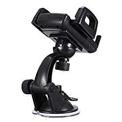 Universal 360° Car Windshield Mount Holder Stand Bracket For Samsung Galaxy S5/S4/S3/S2
