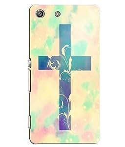 Citydreamz Jesus Christ\Cross\Christmas Hard Polycarbonate Designer Back Case Cover For Sony Xperia M5 Aqua/ M5 Dual Sim