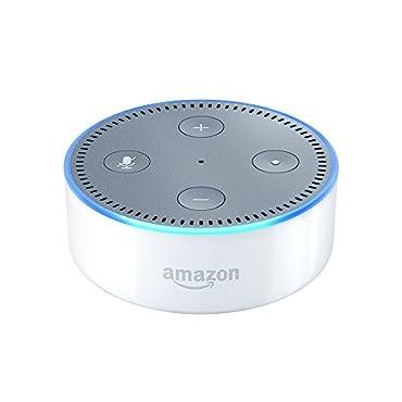 Echo Dot 2nd Generation Bluetooth Alexa Device (White)