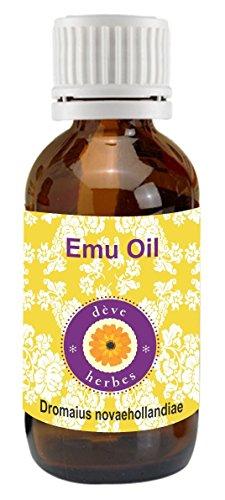 Deve Herbes Pure Emu Oil 30ml (Dromaius novaehollandiae)