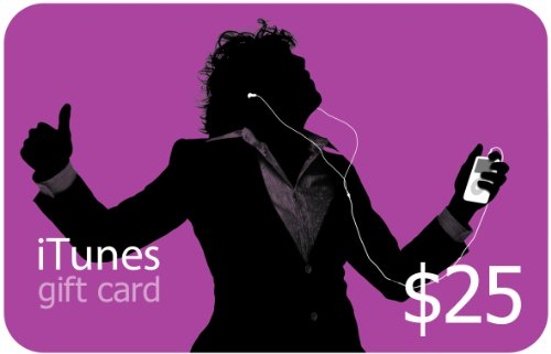Apple iTunes Gift Card $25 (885909536221)