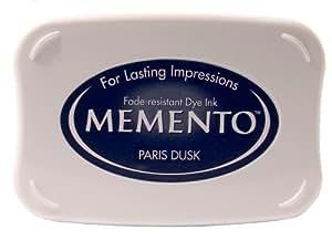 Tsukineko Memento  Paris Dusk Ink Pad, Blue