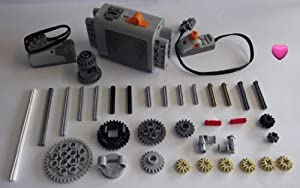 LEGO TECHNIC 37-Piece Motor Set with Accessories
