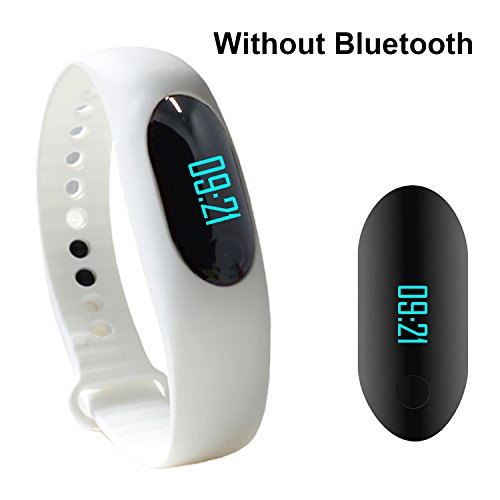 "YAMAY? Waterproof IP64 Smartband with 0.49"" OLED Touch Button Water Resistance Smart Wrist Band Bracelet Wristband for Running Fitness Health Sport Activity Tracker Pedometer Calorie Sleeping Monitor"