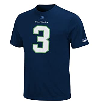 NFL Seattle Seahawks Russell Wilson #3 Eligible Receiver Name & Number T-Shirt by NFL