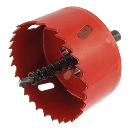Seeking for Amico 2 3/4' 70mm Cutting Diameter Triangle Shank Twist Drill Bit Bimetal Hole Saw
