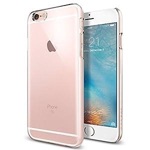 【Spigen】 iPhone6s ケース, シン ・フィット [ パーフェクト フィット ] アイフォン 6s 用 (クリスタル・クリア SGP11591)