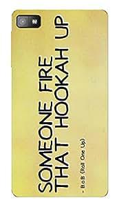 Designer Printed Back Case for Blackberry z10