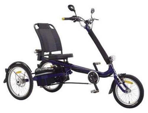 International Surrey Company EZ Rider Electric Tricycle Blue