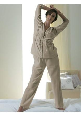 damen nickianzug nicki anzug hausanzug sportanzug beige. Black Bedroom Furniture Sets. Home Design Ideas